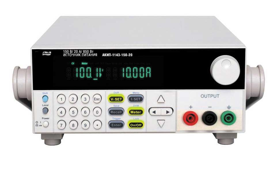 Программируемый импульсный источник питания постоянного тока АКИП-1143-32-110