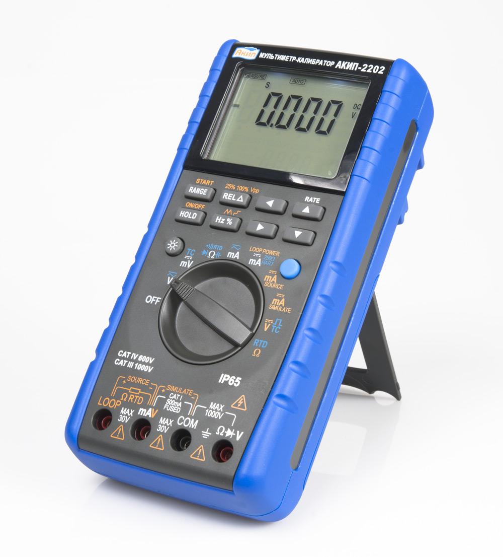 Портативный мультиметр АКИП 2202