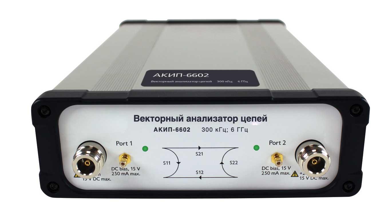 Векторный анализатор цепей АКИП 6602