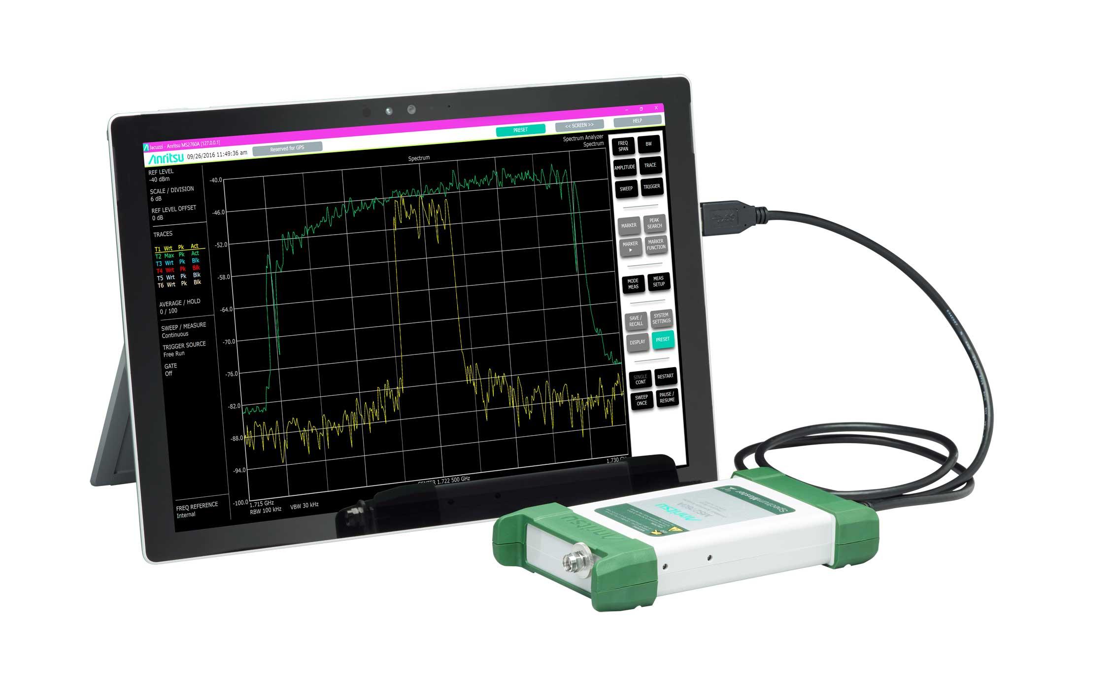Анализатор спектра Anritsu MS2760A-0050