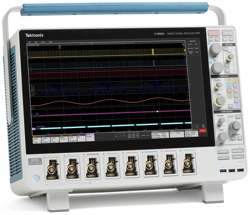 Осциллограф смешанных сигналов Tektronix MSO54